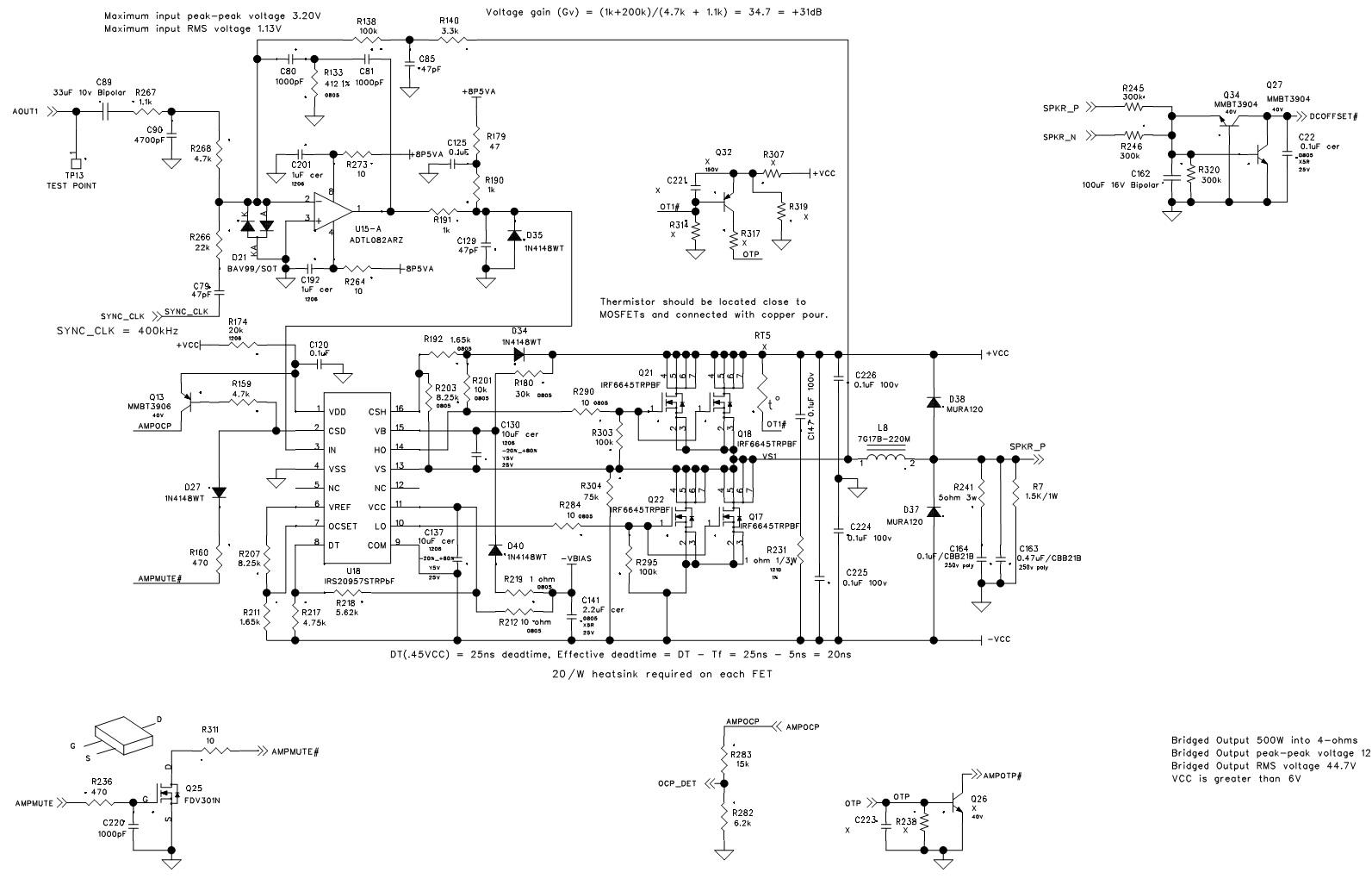 amplifier 2 channel 2ohm wiring diagram
