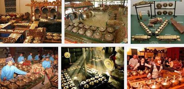 Gamelan Budaya Asli Jawa Tengah