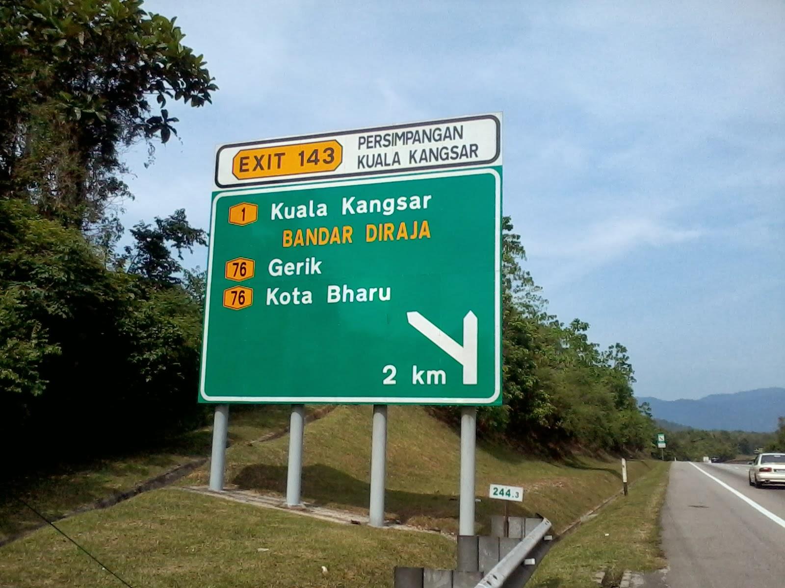 Bromalim Perjalanan Ke Kuala Kangsar