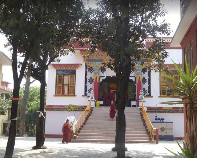 samteling monastery a boudhanath