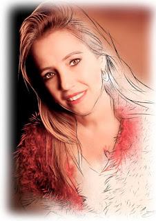 retratos coloridos digitais