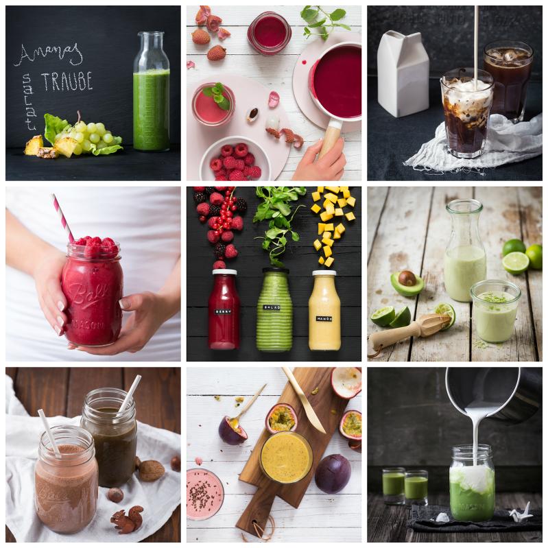 fresh! 190 Smoothies, Säfte und Drinks, Umschau Verlag