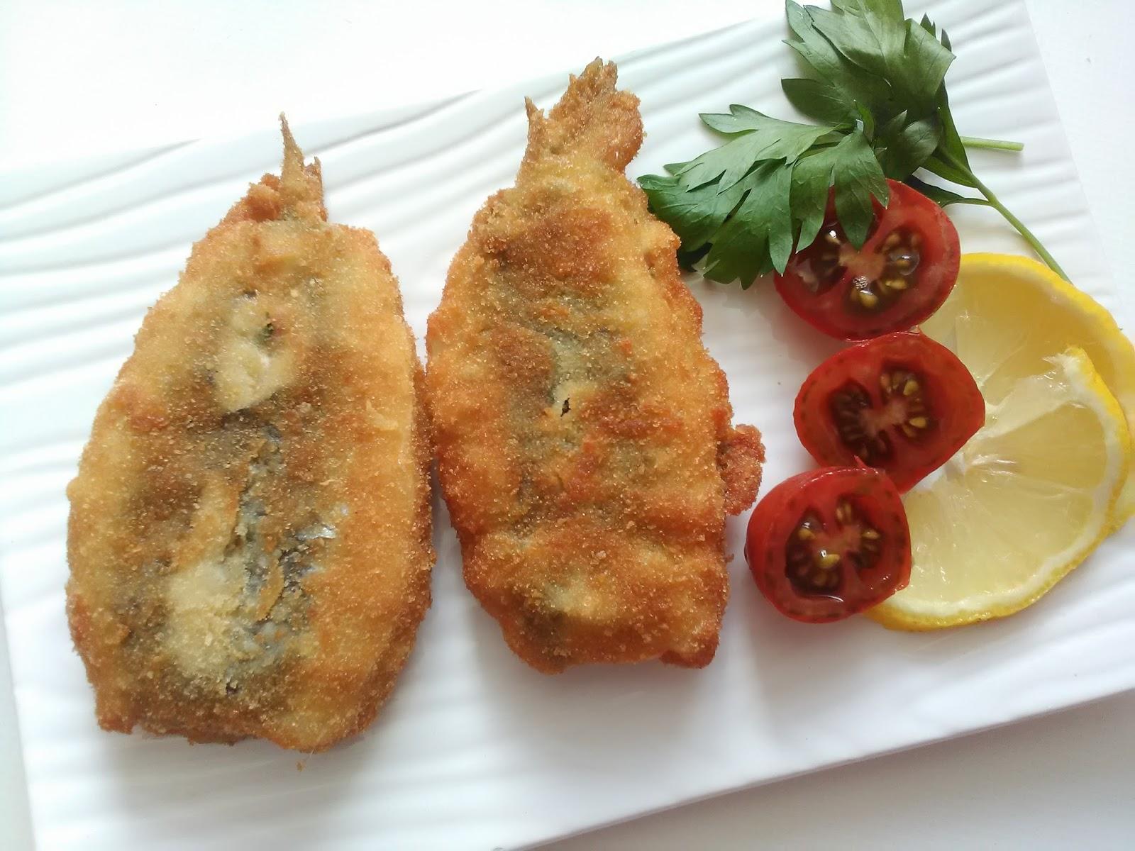 Cocinar sin miedo sardinas rellenas con picadillo - Como cocinar sardinas ...