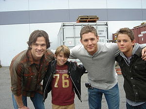 Image result for supernatural, young sam and current sam