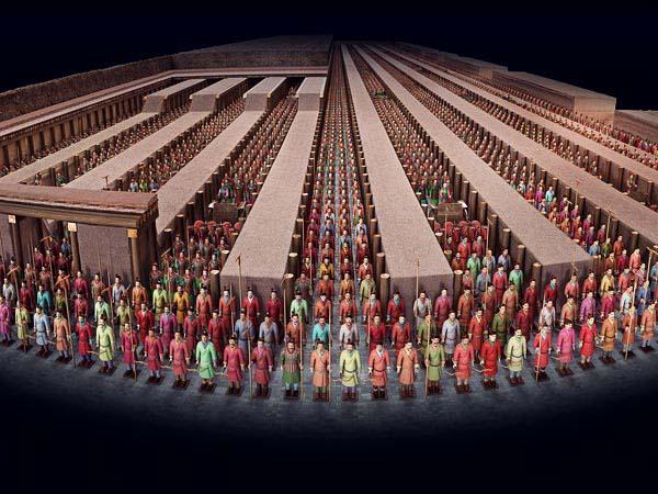 www.fertilmente.com.br - Os soldados ficavam todos de prontidão, olhando para os domínios do Imperador, sua função seria guarnecer e proteger seu reinado no pós vida