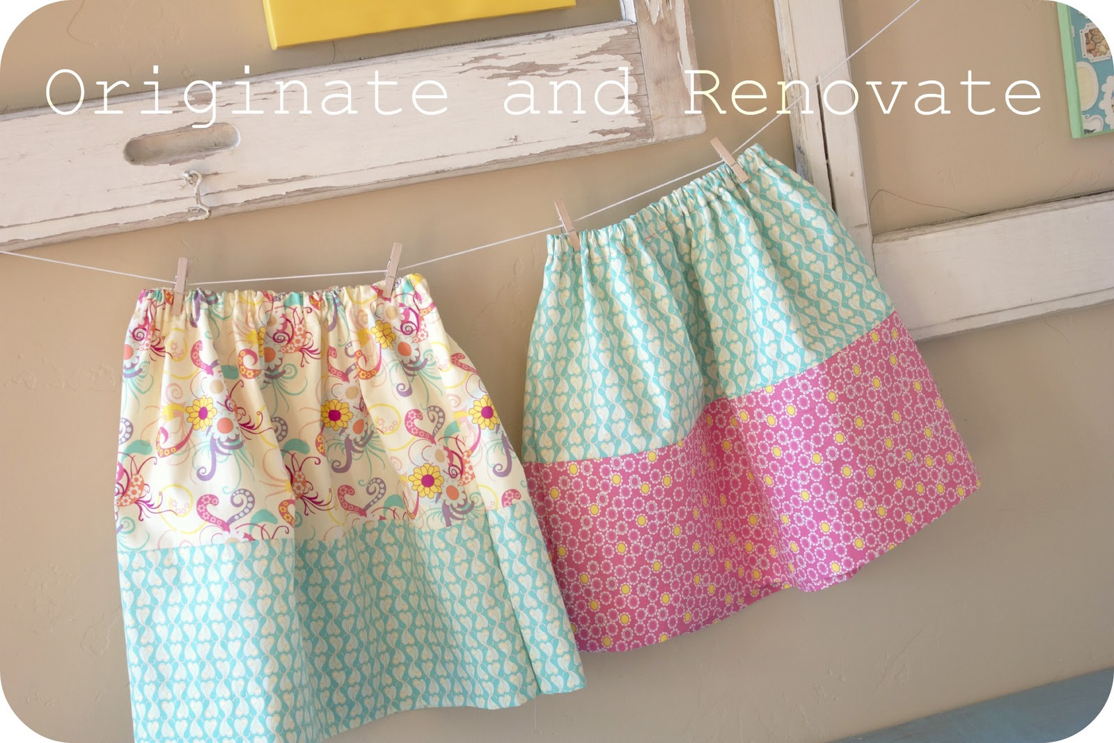 Diy Fat Quarter Projects Originate And Renovate Fat Quarter Skirt