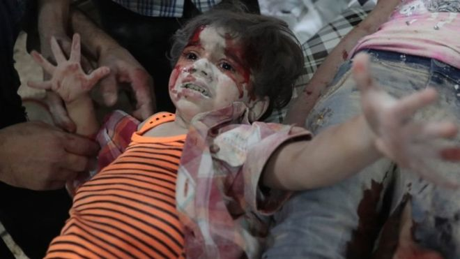 Syria war: 2016 was the worst year for Syrian children, says Unicef