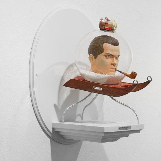 Mike Leavitt esculturas diretores famosos e suas obras primas king cuts filmes cinema divertido curioso humor caricatura bonecos