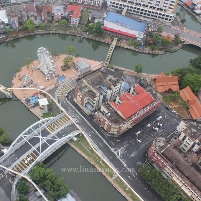 Menikmati Senja yang Menggoda di Sungai Melaka