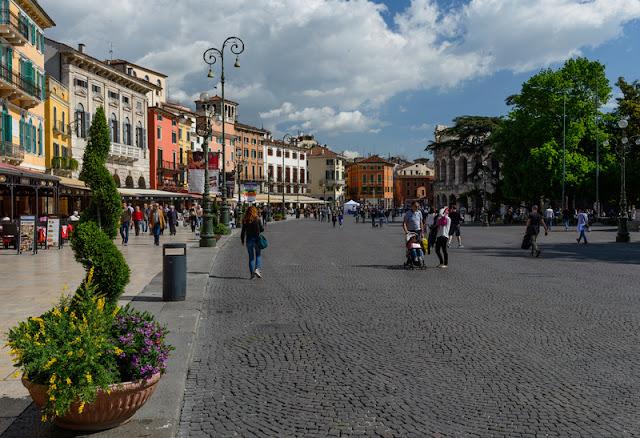A Town Square at Verona