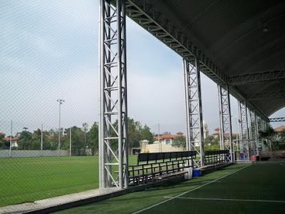 ตาข่ายสนามฟุตบอล สนามฟุตบอลคริสตัลปาร์ค2