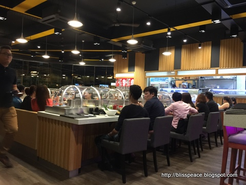 Rotary Sushi in Puchong ..