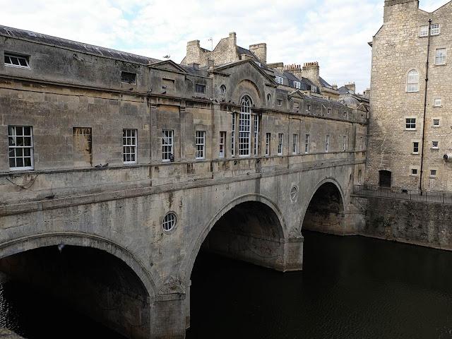 Pulteney bridge à Bath