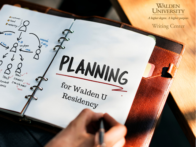 Planning for Walden U Residency
