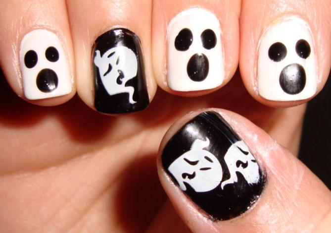 Diseños de Uñas para Halloween | Página Femenina