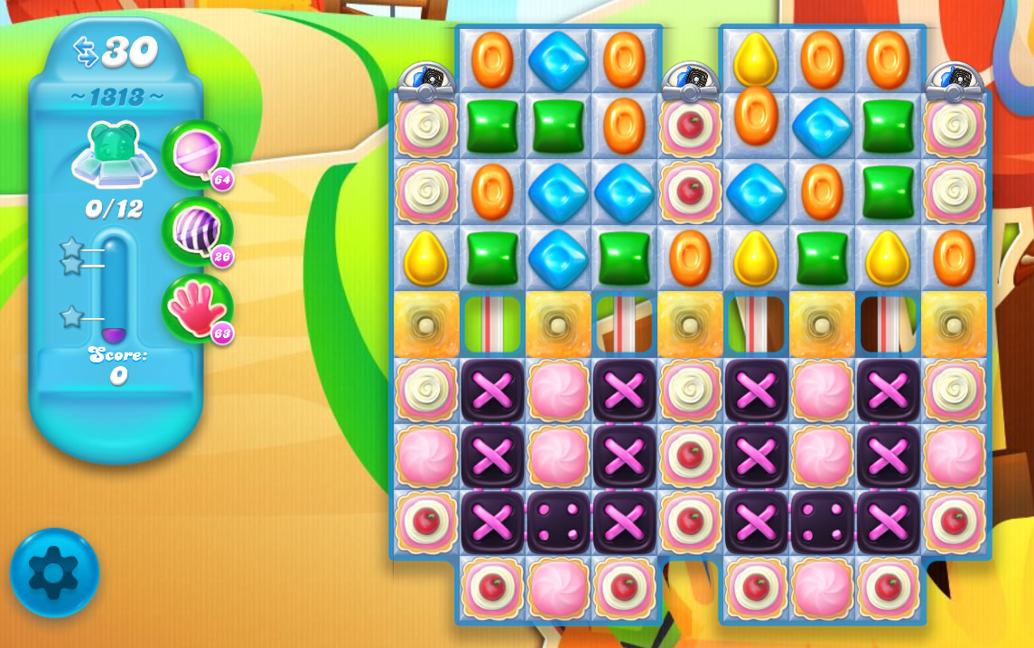 Candy Crush Soda Saga level 1313