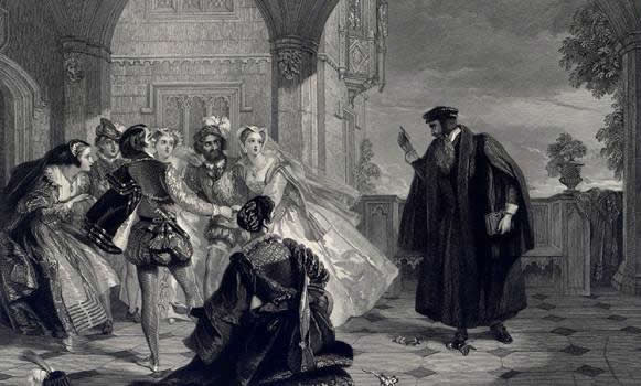 John Knox and Queen Mary