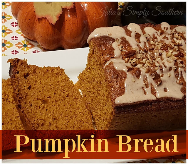Julia 39 s simply southern easy pumpkin bread for Recipes with minimal ingredients