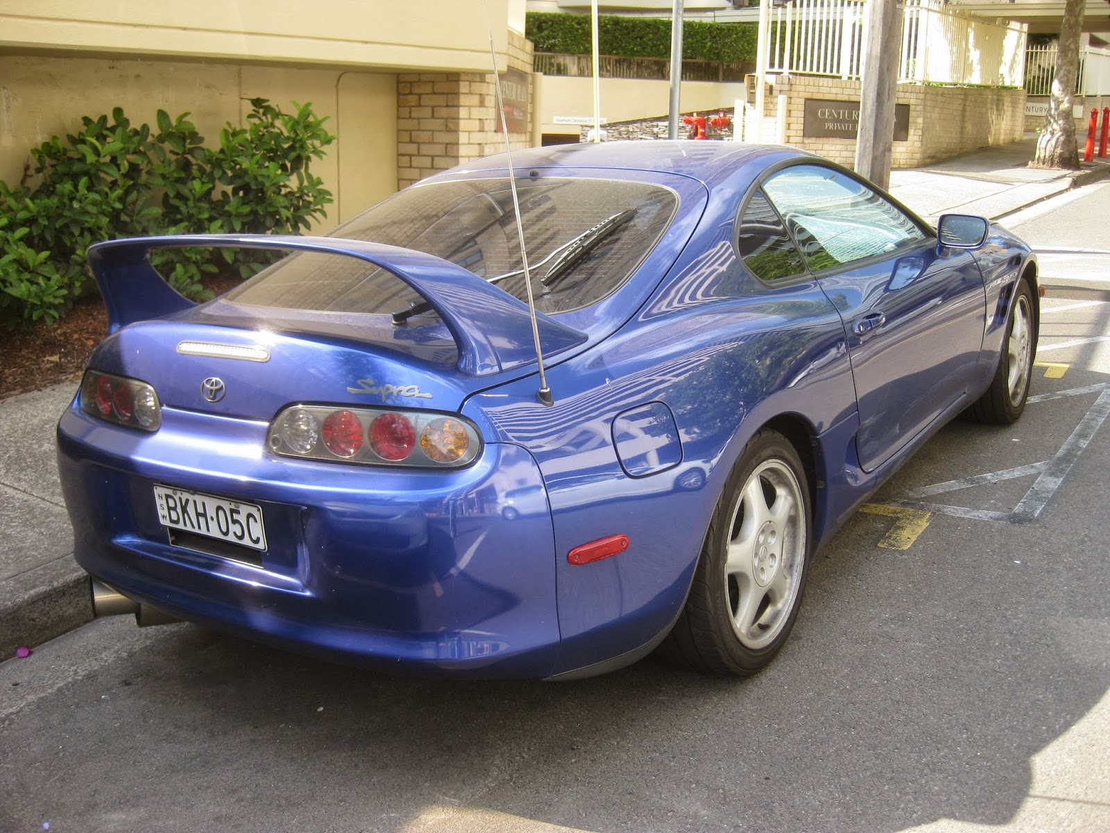 Aussie Old Parked Cars 1998 Toyota Supra Mark Iv A80