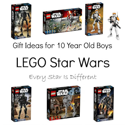 LEGO Star Wars gift ideas for 10 year old boys.