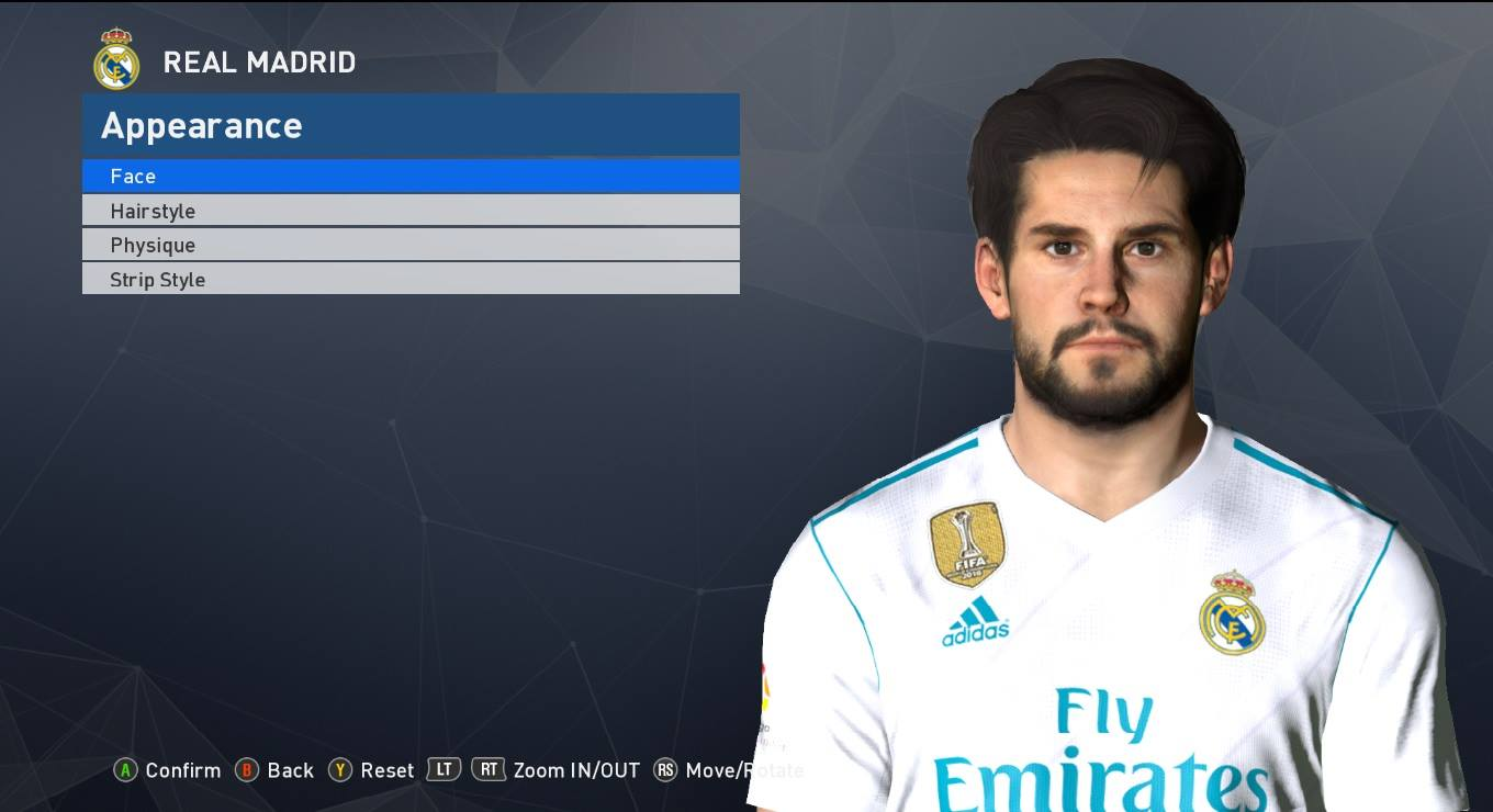 PES 2017 Isco Face by Shenawy