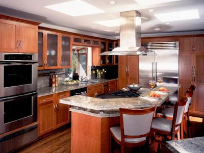 แบบห้องครัวเคาเตอร์โค้ง