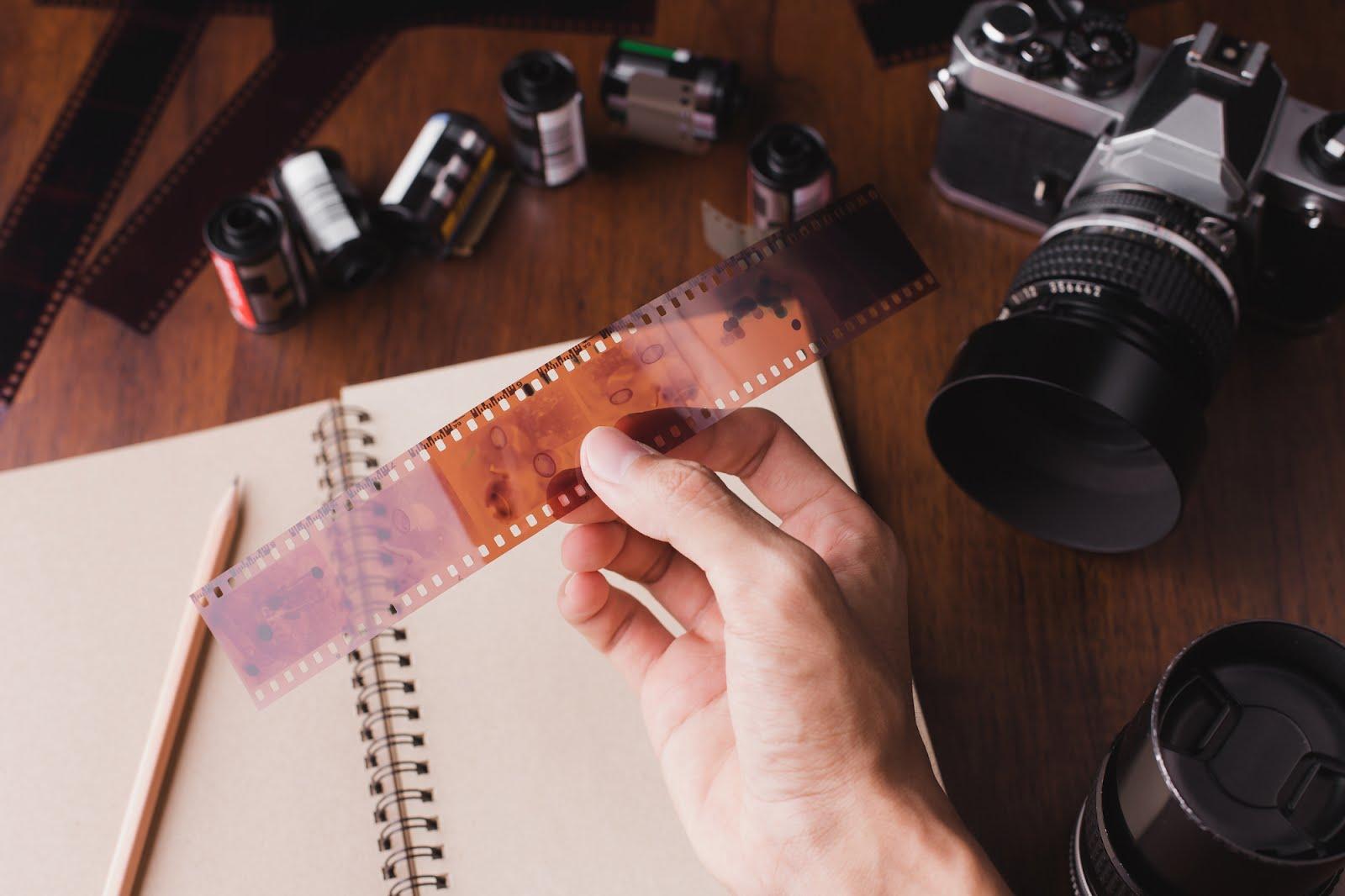 roll film kamera analog