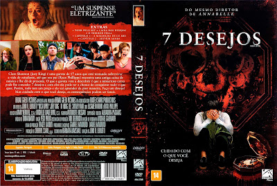 Filme 7 Desejos (Wish Upon) DVD Capa