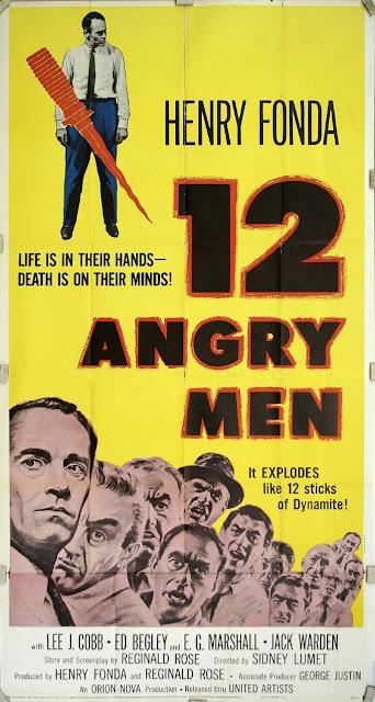12 Angry Men. Η αφίσα της ταινίας