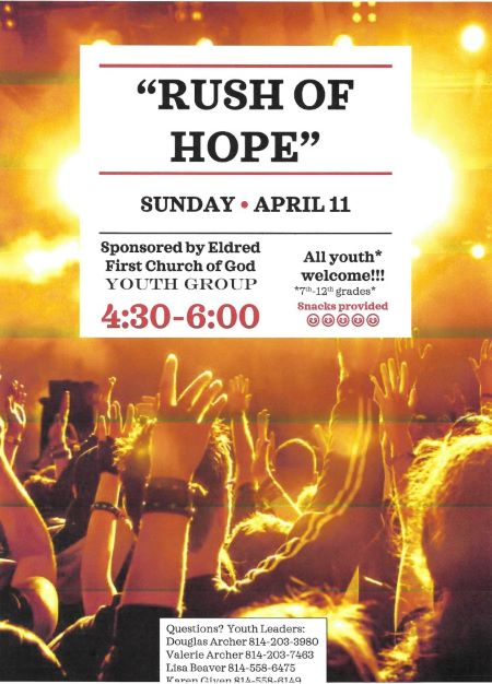 4-11 Rush Of Hope