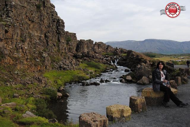 Þingvellir - río Öxará
