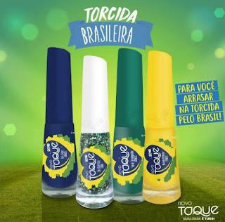 Esmaltes Torcida Brasileira