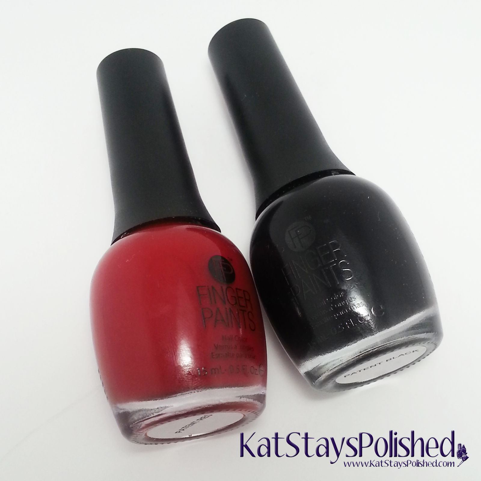 FingerPaints Patent Leather Duo | Kat Stays Polished