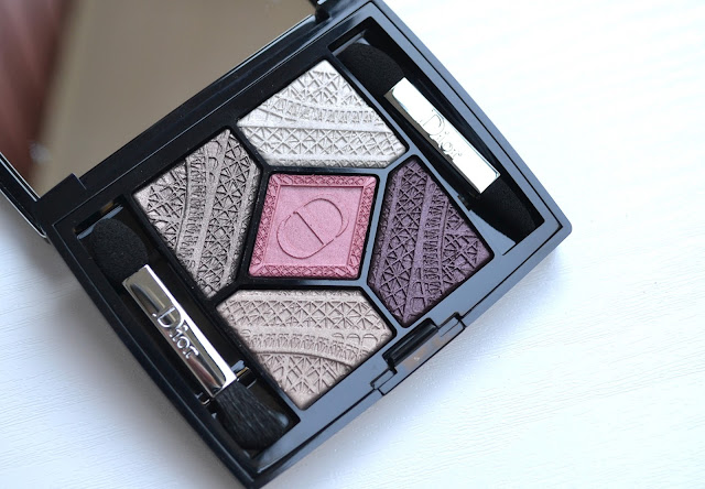 Dior Capitol of Light 5 Couleurs Eyeshadow Palette Makeup Look