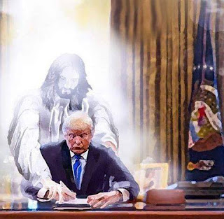 Image result for trump as messiah