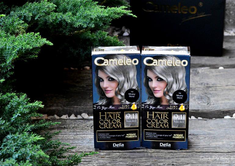 Farba do włosów Cameleo OMEGA+ Frozen Blond 9.11 Delia - recenzja