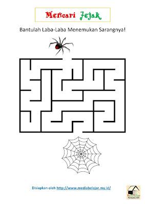 Mencari Jejak: Bantulah Laba-laba Menemukan Sarangnya