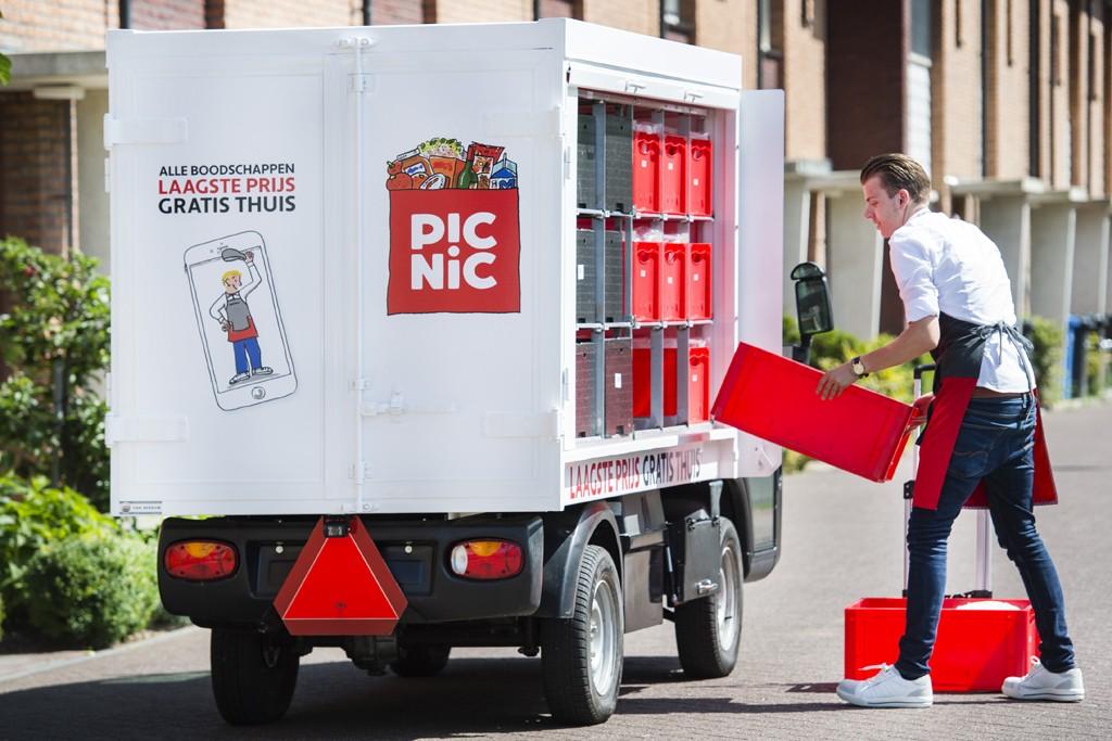 純電動車送貨免運費,荷蘭首家網路超市搶市成功 數位時代