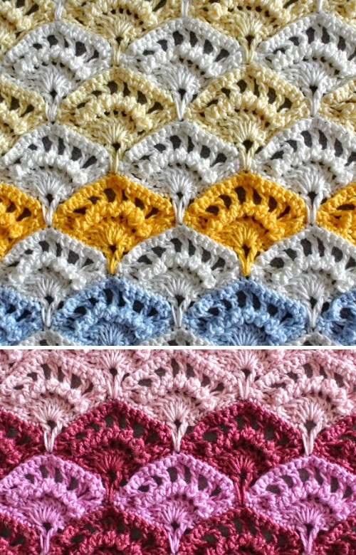 Crochet Shell Stitch - Free Pattern & Tutorial