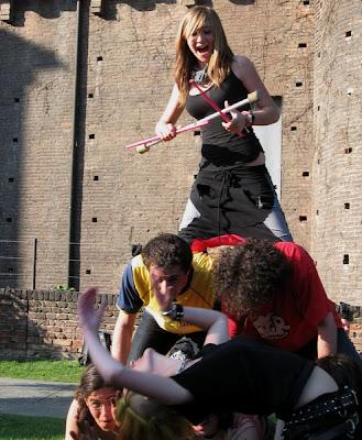 Движение панков в Италии Турин