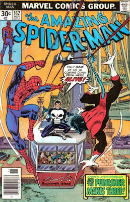 Amazing Spider-Man #162, the Punisher and the Nightcrawler