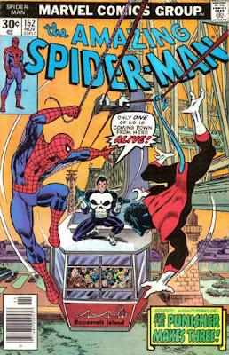 Amazing Spider-Man #162, the Punisher and the Nightcrawler