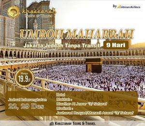 Umroh Khazzanah Tour Mahabbah Landing Jeddah