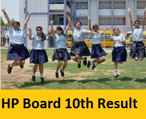 HP Board 10th Result