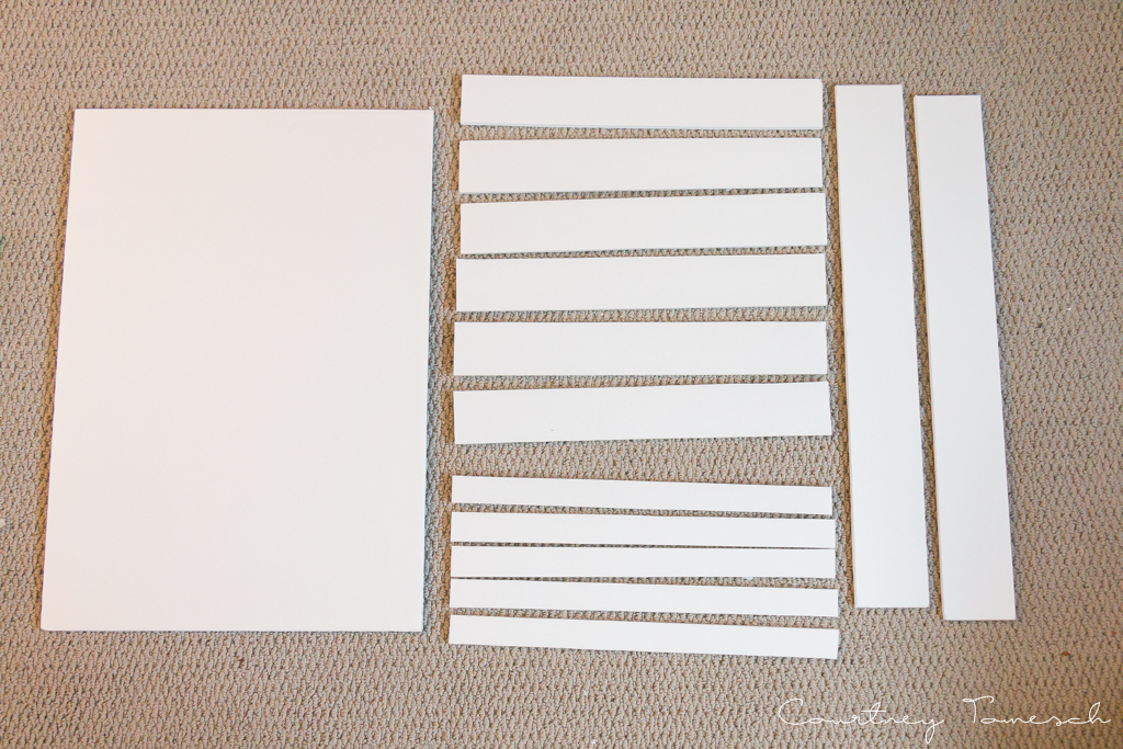 Courtney Tomesch $2 DIY Nail Polish Rack