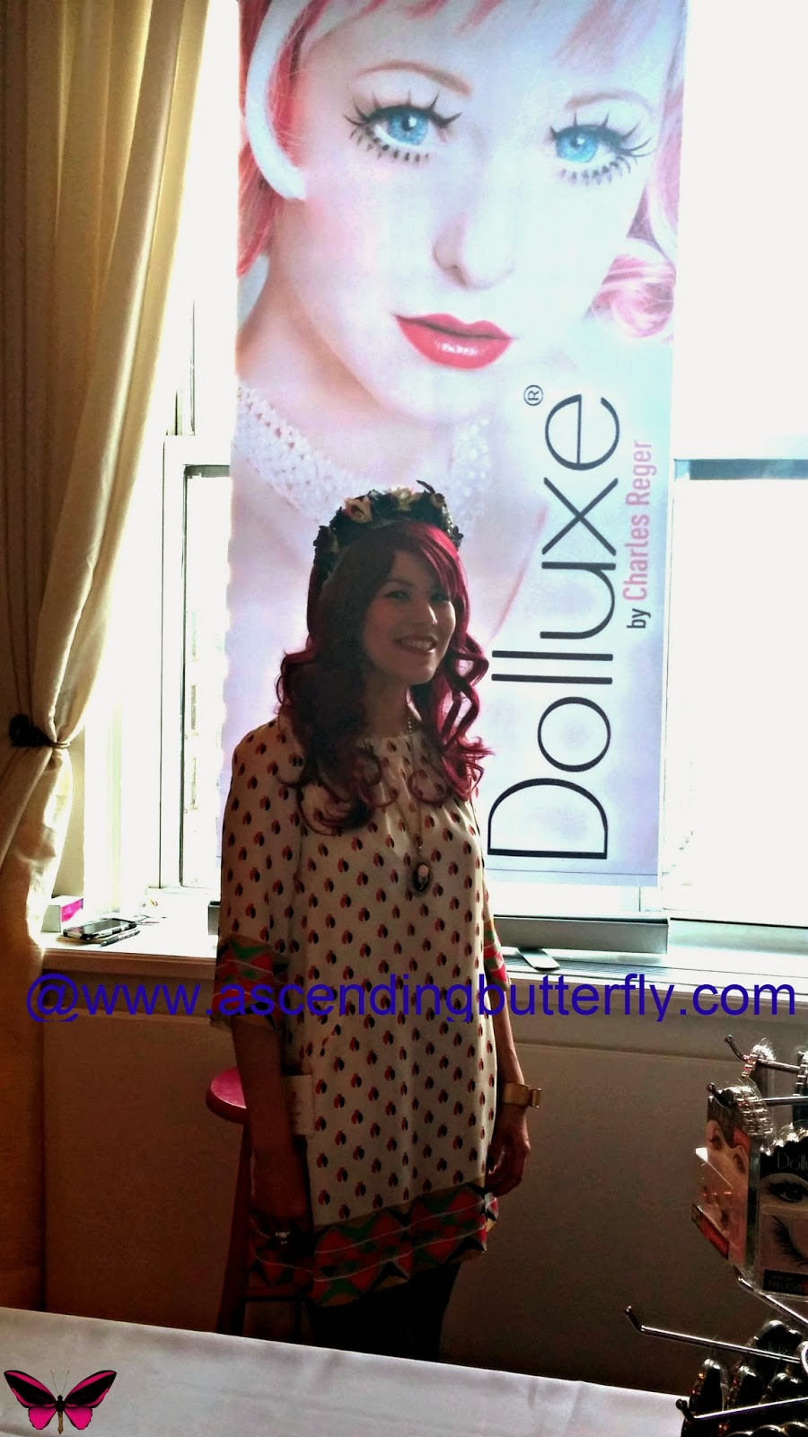 Dolluxe Display area at BeautyPress Spotlight Day February 2014
