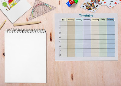 Make your study time table