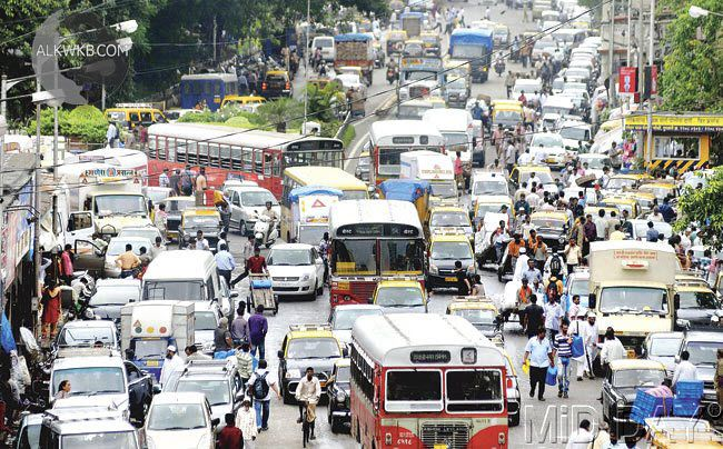 Mumbai Indian Traffic
