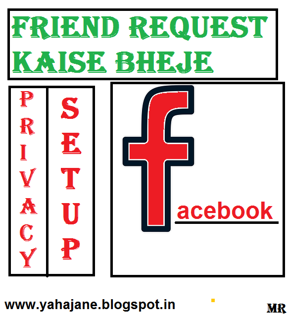 Facebook Par Privacy Id Par Friend Request Kaise Bheje In Hindi