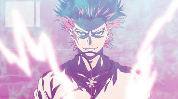 Mikoto Suoh in K: Seven Stories